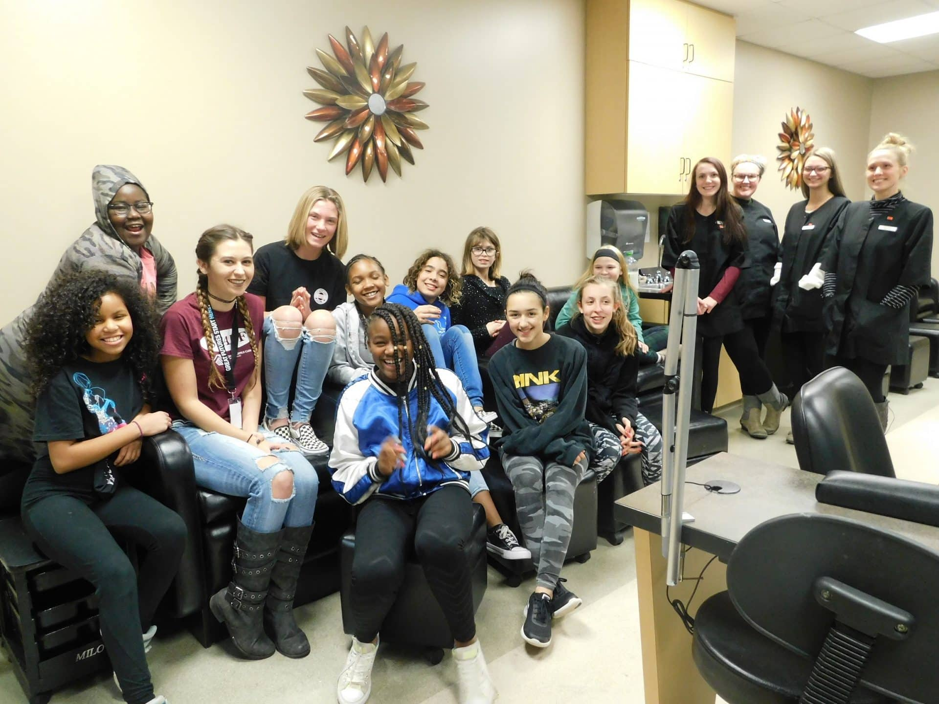 Boys and Girls Club at MPTC Cosmetology