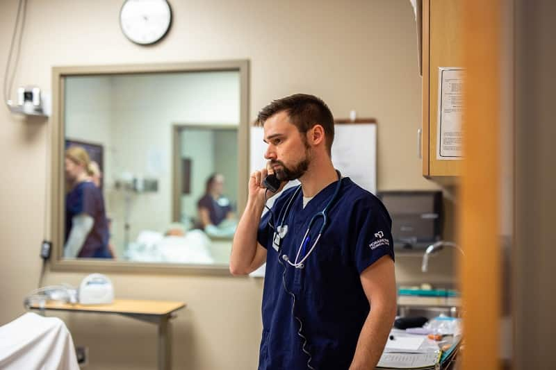Nursing student Male