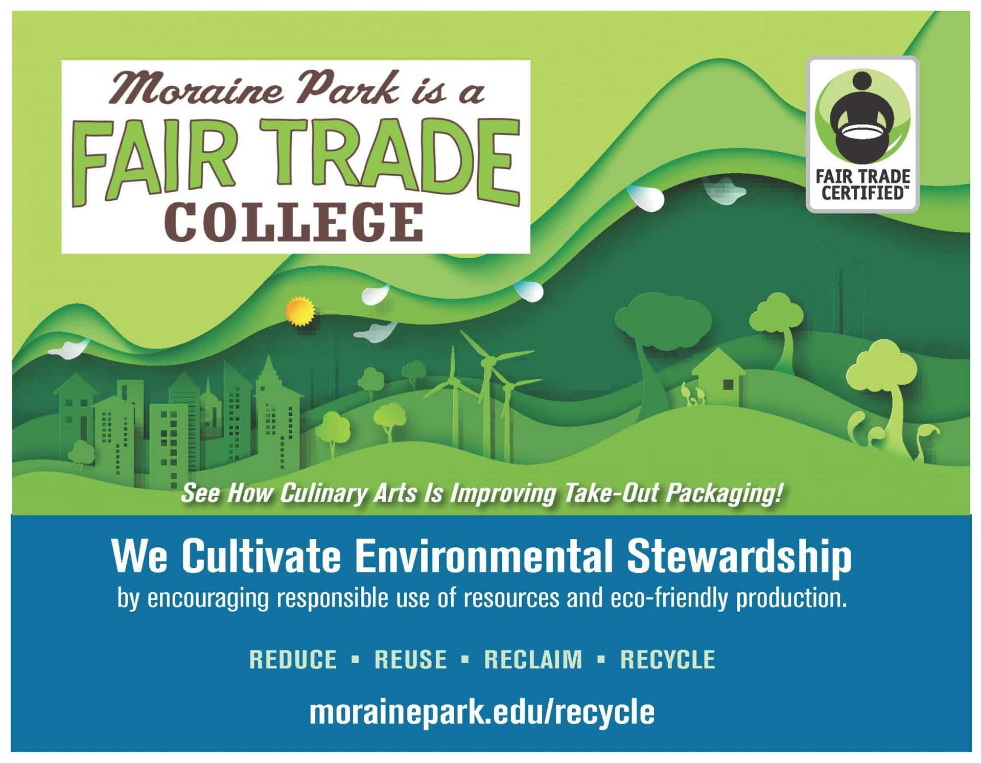 we cultivate environmental stewardship poster