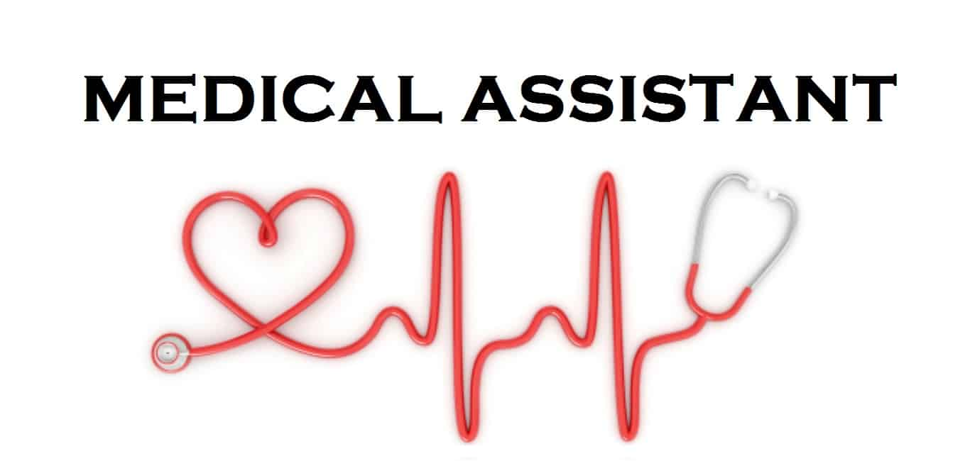 medical assistant with stethoscope