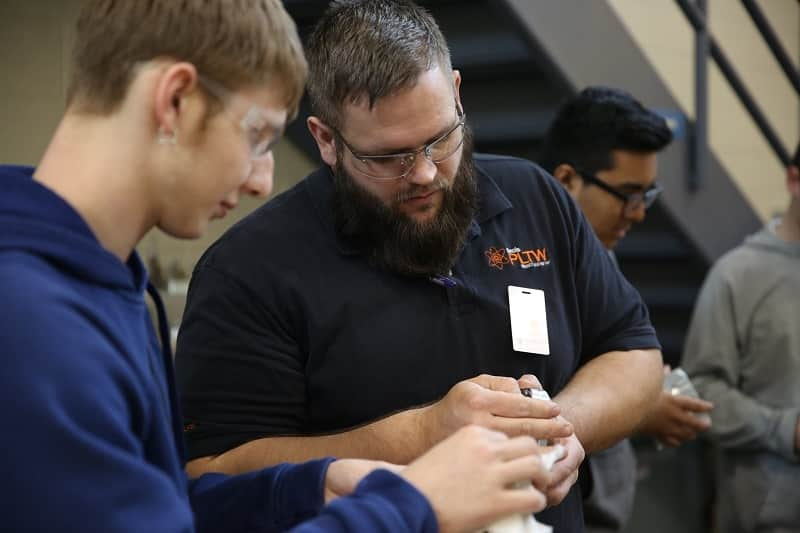 CNC instructor West Bend HS
