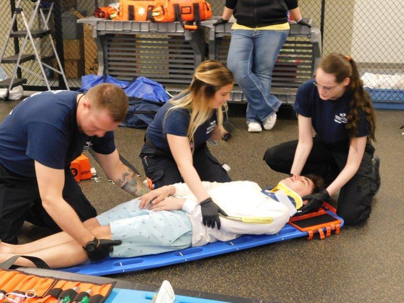 Waupun HS visits EMS