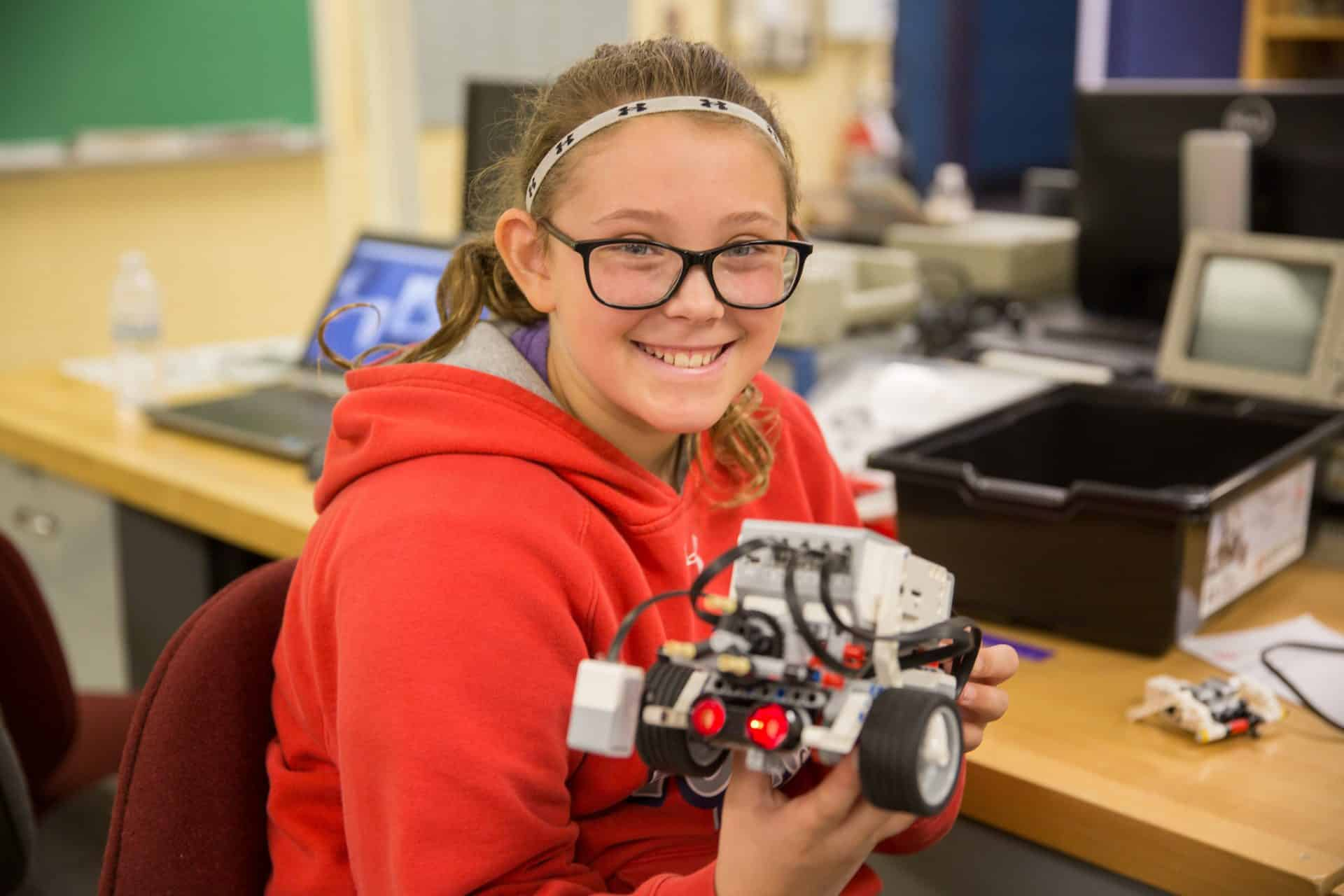 girls rock robotics