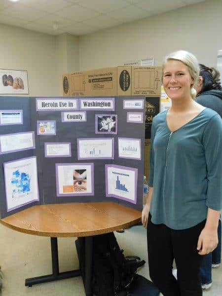 Nursing student mental health project