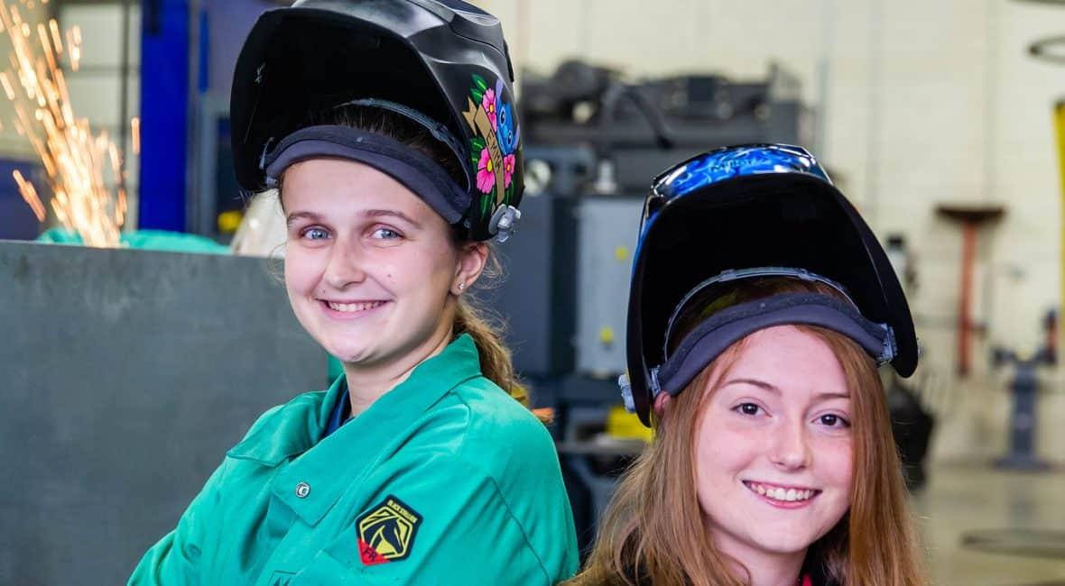 female welders