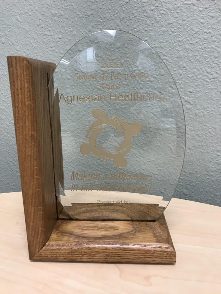 Agnesian award photo