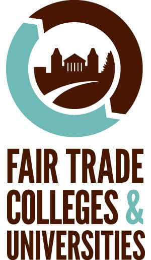 fair trade college logo