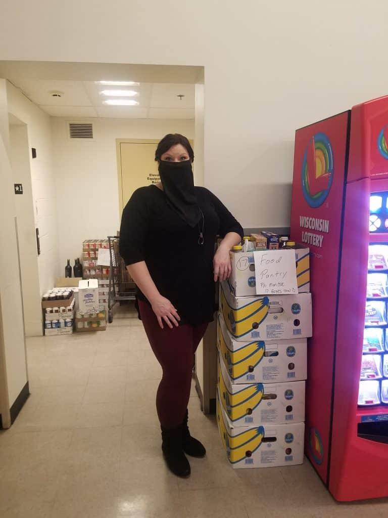 Nikki Toombs food pantry project