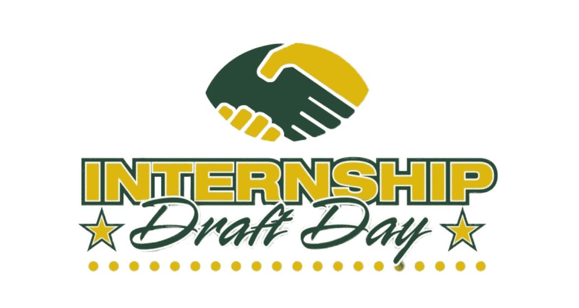 Internship Draft Day Logo